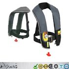 Adult Inflatable Outdoor Fishing Boating Swimming PFD Safety Life Jacket Vest