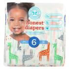 The Honest Company Diapers - Giraffes - Size 6 - Children 35 plus lbs - 22 count
