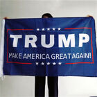 3X5FT Blue & White Flag For Donald Trump USA President Make America Great Again