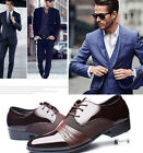 Men Leather Oxfords Shoes New Dress Formal Business Business Casual Office Gifts