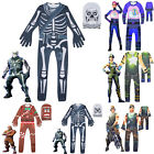 Fortnite Halloween Karneval Kostüm Jumpsuit Overall Cosplay Costume Fancy Dress
