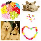 20Pcs New Soft Rubber Pet Dog Cat Puppy Paw Claw Control Nail Caps Cover Color G
