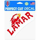 "Lamar Cardinals Official NCAA 4"" x Automotive Car Decal 6x6 by Wincraft  ..."