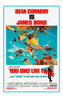 James Bond 007 You Only Live Twice Movie Art Silk Poster 8x12 24x36 24x43 $14.08 CAD on eBay