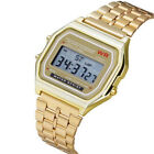 For Christmas CASIO * GOLD Watch digital watch square WATERPROOF more colors Wristwatches - 31387