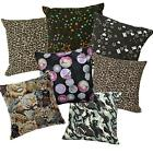 Pillow Cover*Modern Cotton Canvas Sofa Seat Pad Cushion Case Custom Size*AL2