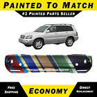 NEW Painted To Match - Front Bumper Cover Fascia for 2004-2007 Toyota Highlander