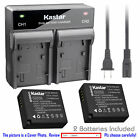 DMW-BLE9 Battery or Dual Charger for Panasonic Lumix DMC-ZS100 DMC-ZS110 DMC-S6