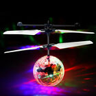 Magic Electric Flying Ball Helicopter RC UFO Fly Disco Infrared Sensor Kid Drone