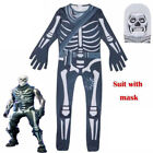 SKULL TROOPER HALLOWEEN COSTUME RARE ZENTAI COSPLAY JUMPSUIT BODYSUIT Adult