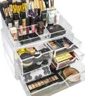 Sorbus Acrylic Cosmetics Makeup And Jewelry Storage Case X-Large Display Sets -I