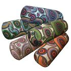 Bolster Cover*DandelionCotton Canvas Neck Roll Tube Yoga Massage Pillow Case*AF7