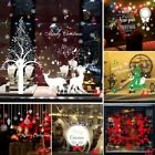 3d Home Decoration Christmas Xmas Window Sticker Wall  Santa Snowflake 1pcs Au