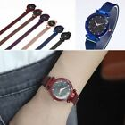 Fashion Women Watch Luxury Watch Star Starry Sky Magnet Strap Buckle Stainless image