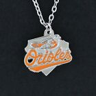 Baltimore Orioles Necklace - Pewter Charm on Chain Major League Baseball MLB NEW on Ebay