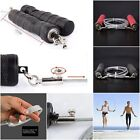 Gym Training Jump Rope Adjustable Steel Wire Speed Skipping Crossfit Exercise UK