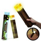 Minecraft Torch Light Up Diamond Night Lamp Redstone Ore Cube Toy Best Gift Kids