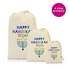 Personalised Happy Hanukkah Chanukah Drawstring Bag Gift Ideas 2019 Gifts UK