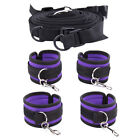 1PC Adults Sex-SM-Toys Private Bed Handcuffs Cuffs Strap Whip Rope Bandage Mask