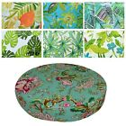 "2""Thick-Round Box Shape Cover*A-Grade Cotton Canvas Chair Seat Cushion Case*Lf5"