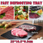 Kyпить Magic Fast Metal Thawing Plate Defrosting Tray Defrost Meat for Kitchen Cooking на еВаy.соm