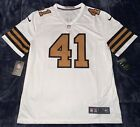 2018 Alvin Kamara New Orleans Saints White Color Rush Legend Jersey MLXL2XL