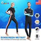 Men&Women's Stretch Full Body Wetsuit Surf Swim Diving Steamer Wet Suit