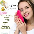 Makeup Remover with Just Water Cloths Clean Towel Reusable Facial Cleansing