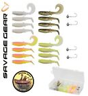 New Savage Gear Lures Boxes CANNIBAL SHAD KIT Predator Fishing Lure Soft Bait