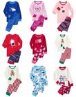 Внешний вид - NWT Gymboree Holiday Pajamas 2pc Cotton Top and Pants Set Pajama