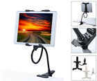 AGOZ Flexible Arm Gooseneck Desk Bed Kitchen Lazy Holder Mount Stand for Tablets