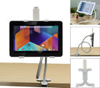 AGOZ Flexible Adjustable Arm Gooseneck Clam Mount Holder Stand for Tablet tab