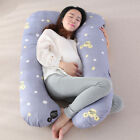Hypoallergenic Full Body Pillowcase Pregnancy Maternity Cotton Pillow Cover image