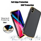 iPhone 11 Pro Battery Case 5500mAh Rechargeable Charger Portable Charging Cover