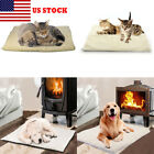 Winter Dog Self Heating Bed Mat Soft Warm Pet Cat Rug Thermal Washable Pad US