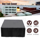 Внешний вид - Hot Tub Spa Cover Cap  Anti-UV Electrical Insulation Protector + Spring Stoppers