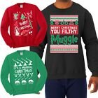 Внешний вид - Potter Fan Ugly Christmas Sweater Various Funny Harry Holiday Humor Sweatshirt