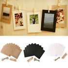 Photo Frame Home Black White Brown Card Making Creative Activities Brand New