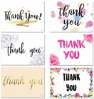 Pack of 10 Thank You Cards Thankyou Postcards Notes Pads Adults Mens Ladies