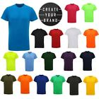 Create Your Own Sportswear Brand Custom Printed Logo Sports T-Shirts Wholesale