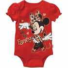 Minnie Mouse Baby Girls Oh So Fancy Bodysuit