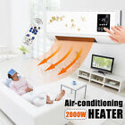 Внешний вид - 2000W Wall Mounted Heater 220V Timing Air Conditioner Waterproof Touch Screen