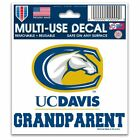 """Uc Davis Aggies Official NCAA 3"""" x 4"""" Automotive Car Decal 3x4 by Wi ..."""
