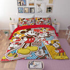 Disney Mickey Minnie Mouse Duvet Cover Bedding Set Pillowcase Comforter Cover 3D