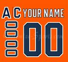 Edmonton Oilers Customized Number Kit for 2017-Present Home Jersey $39.99 USD on eBay