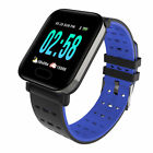 A6 Bluetooth Smart Watch Blood Pressure Heart Rate Monitor Fitness Universal