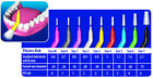 NEW Piksters KINK Interdental Brushes 8 BRUSHES IN  Pack - All Sizes
