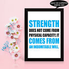 MOTIVATIONAL Inspirational GYM Fitness training quotes posters