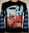 Death Leprosy Long Sleeve T-Shirt Size S M L XL 2XL 3XL Extreme Metal Band New! image