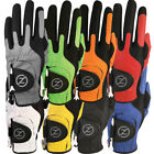 ZERO FRICTION GOLF GLOVE ONE SIZE COMPRESSION FIT MENS LEFT HAND ALL...